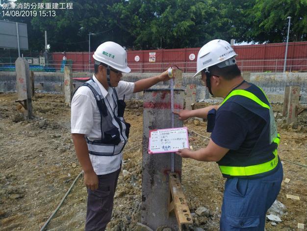 1080814開挖高程檢測(第一挖)