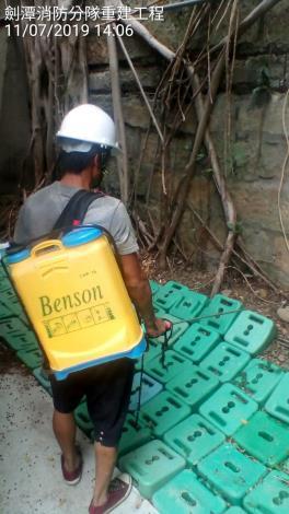 1080711工區內環境消毒