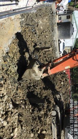 1080805土方開挖(第一挖)