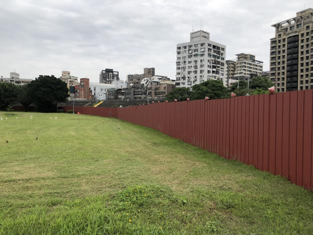 10805臺北端中正橋基礎工程圍籬施作