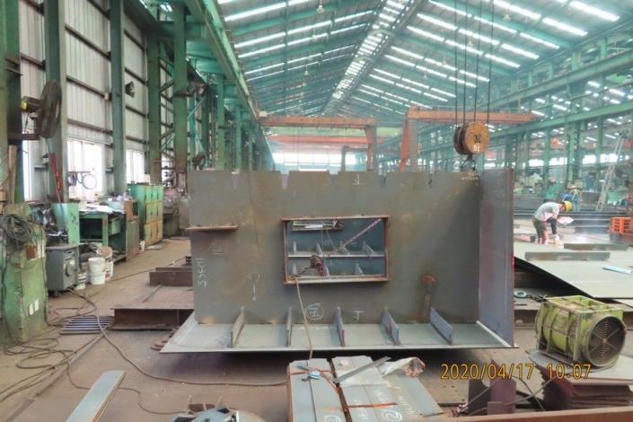 10904-鋼構單元工廠製作