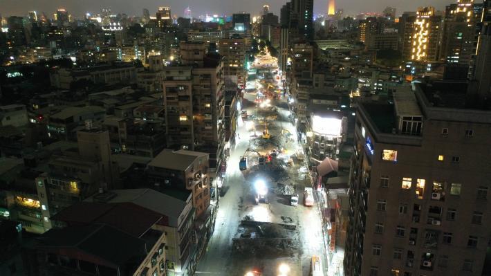 10901-重慶高架橋拆除作業(夜間)