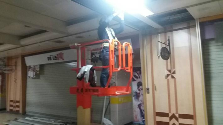 10902各項消防設施等配線天花板復舊作業