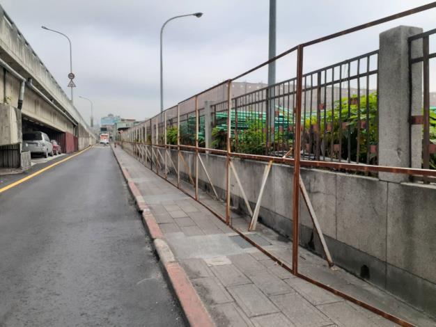 10903-A區圍籬架設
