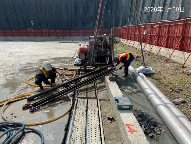10901-止水樁施作