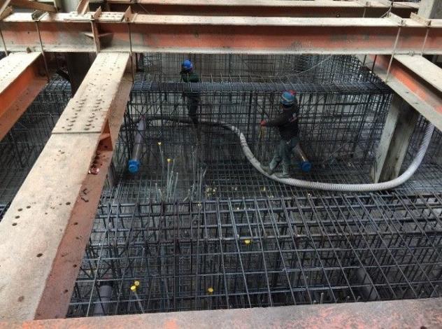 10901-筏基底版混凝土澆置
