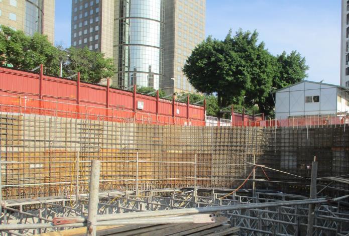 10908-A區B1F車道牆鋼筋綁紮