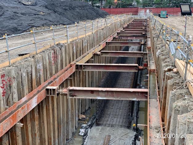 109年1月X6共管鋼筋工程
