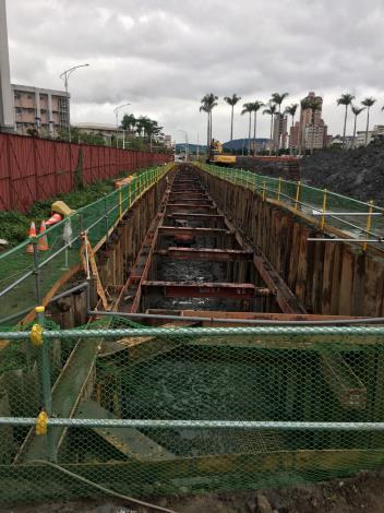 109年2月Y1道路共管開挖