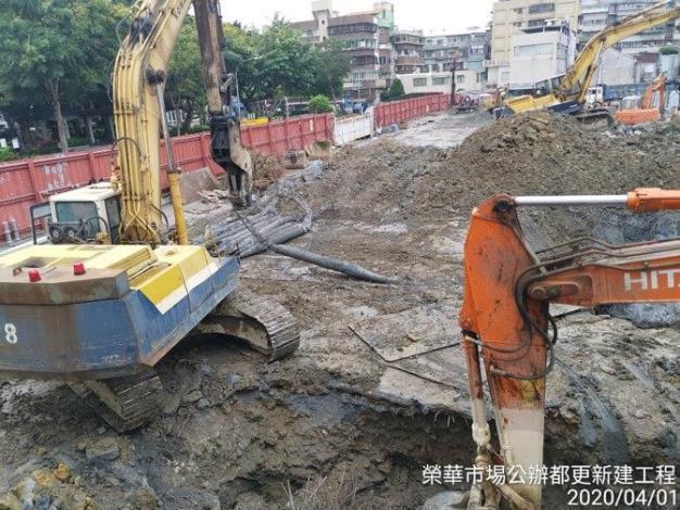 10904-鋪面及舊結構破碎預壘樁拔除