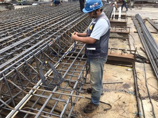 109年3月施工照片-鋼筋籠製作