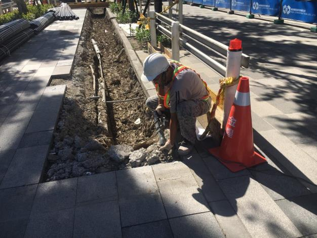 10905-南側共同管線施工