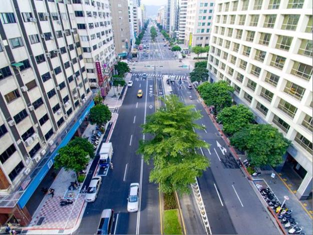 松江路人行道拓寬工程(第二標)