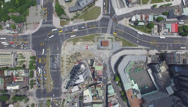 中正忠孝西路北門周邊路型改善工程