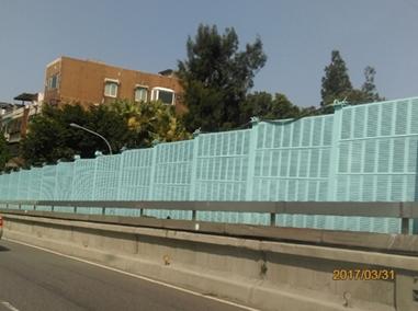 民權大橋隔音牆油漆