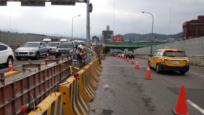 百齡橋銜接重陽橋引道護欄新設