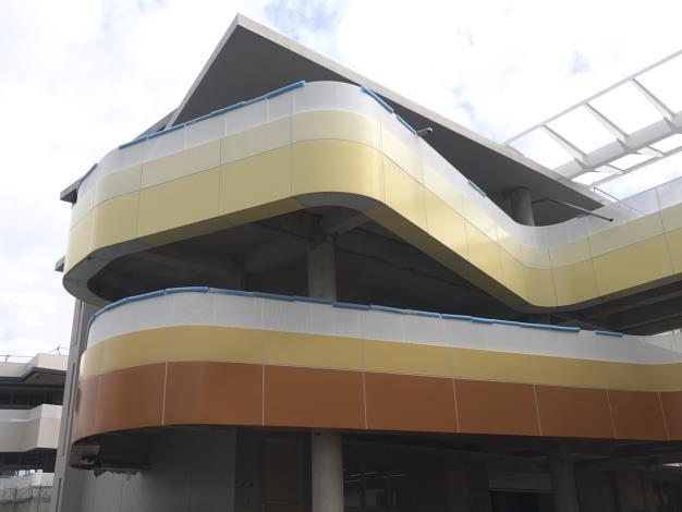 一般教室棟鋁版外牆
