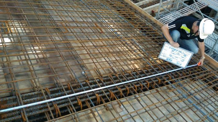 第二部分鋼筋模板澆置前現場查驗