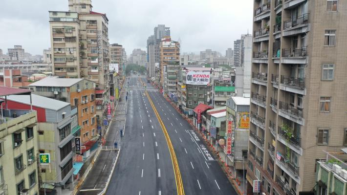 重慶南路三段124巷口空拍照片
