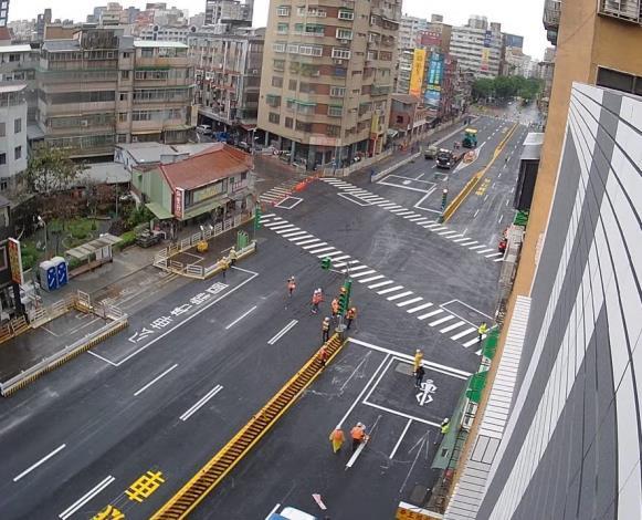 重慶南路-汀州路口空拍照片