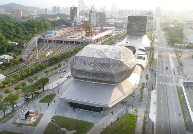 圖2. 北部流行音樂中心興建工程(南基地)完工照片