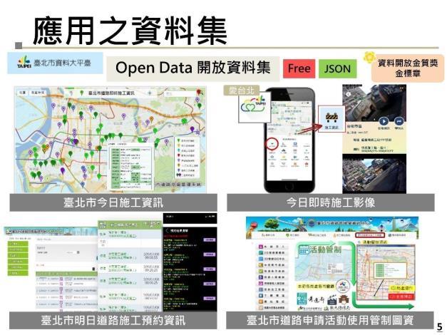 圖4 道管中心開放資料集