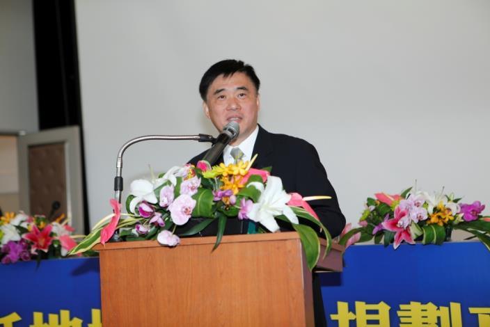 臺北市政府郝龍斌市長為本次高峰會圓滿成功表達肯定。Taipei City Mayor Lung-Bin Hau approves the success of the Summit.