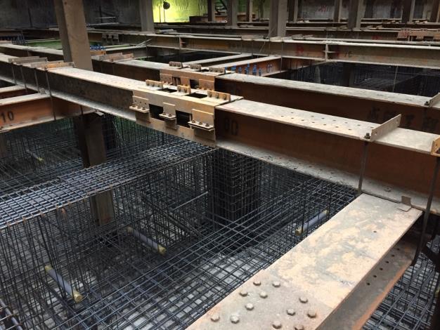 地下室基礎鋼筋施作