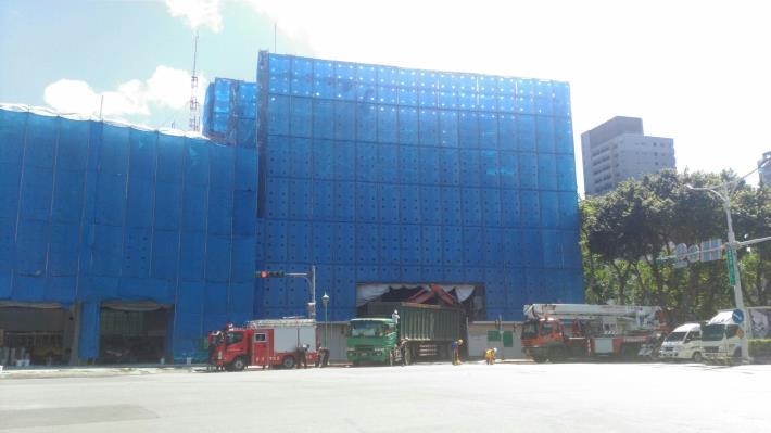 6樓結構體打除及土方清運