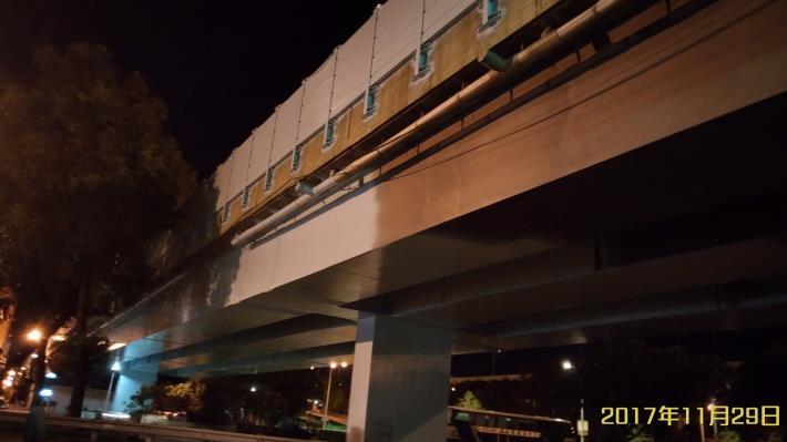慶昌橋鋼橋及隔音牆噴漆