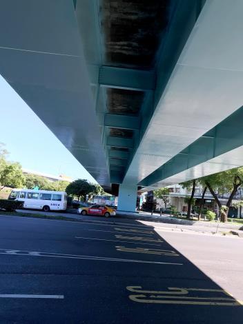 慶昌橋鋼橋段防蝕塗裝