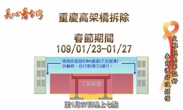 2020-01 中正橋拆除交維宣傳影片[另開新視窗]