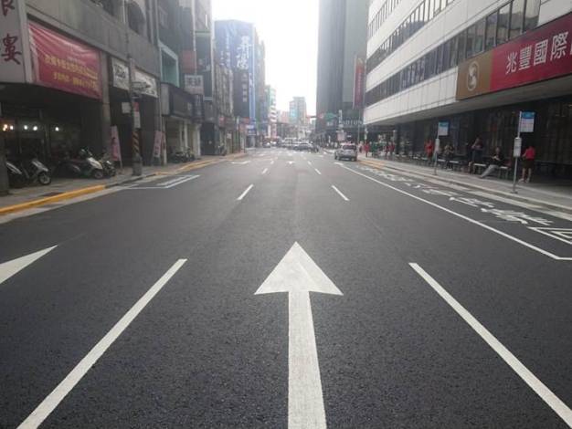 Photo of Hengyang Road after completio