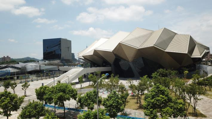 Taipei Music Center Construction Project (Northern Site) – Daytime View