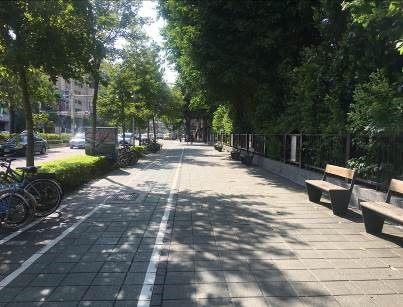 Photo 7. Area appraisal in 2019. The area around the Affiliated Senior High School of National Taiwan Normal University won first place in the area appraisal for special municipality