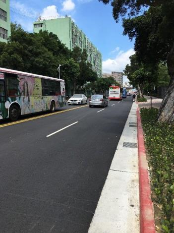 Figure 1. Evaluation of road and side ditch improvement around the Taipei EXPO Park in 2019