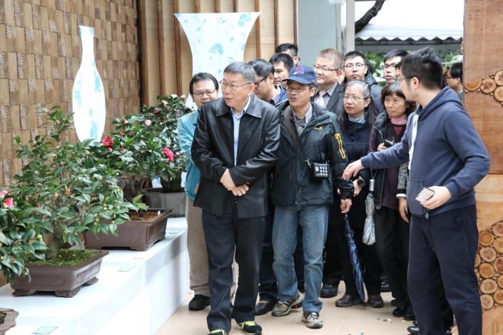 茶花展開幕記者會(照片6)