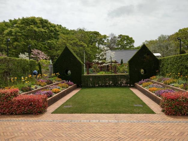 圖六、日本大泉綠地Sensory garden之美。[另開新視窗]