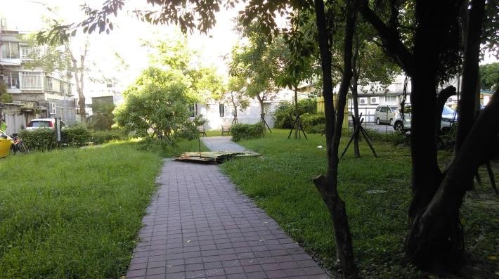 圖1. 埤頭里快樂農園前身為綠地公園[開啟新連結]