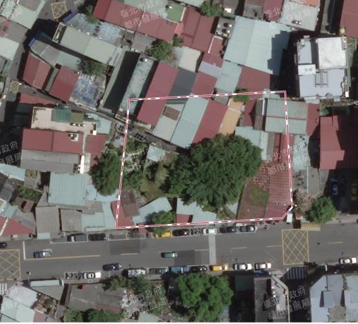 照片1.改造前之大同388公園預定地空拍照