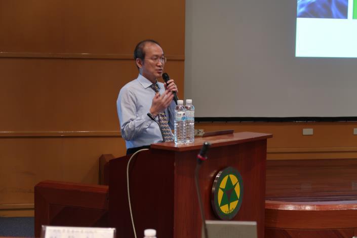 (圖5)行政院農業委員會林業試驗所張彬所長講述韌性城市行動.JPG[另開新視窗]