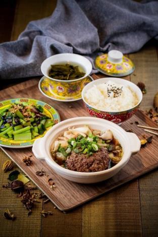 圖4. 官邸食堂的蔣公獅子頭套餐,復刻歷史氛圍[開啟新連結]