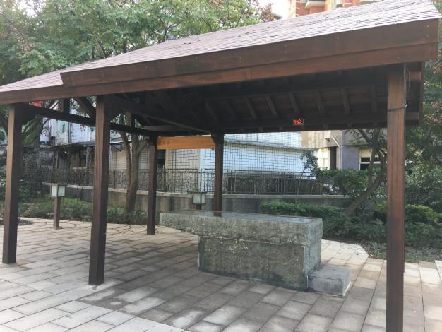 圖一、七星公園溫泉手湯體驗區
