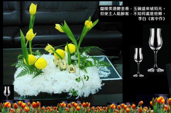 圖4. 配合鬱金香展開設2月23日「球根花卉於生活美學的應用」課程