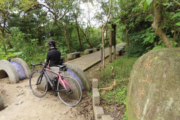 (圖10) 中社路末端是翠山步道的起點 [另開新視窗]