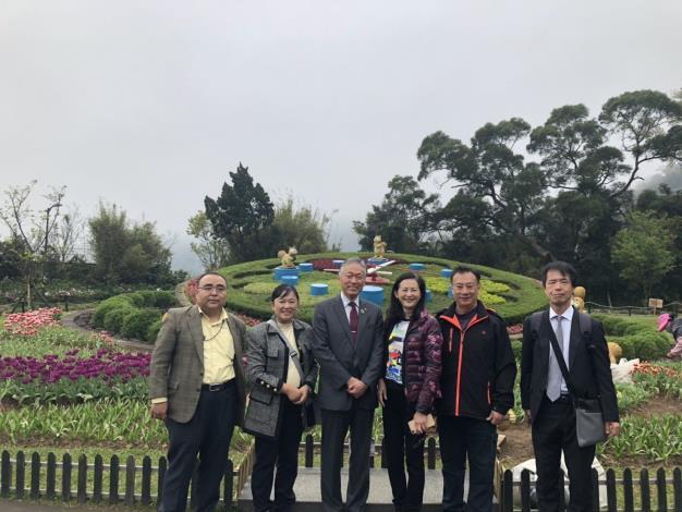 日本阪南市長來訪
