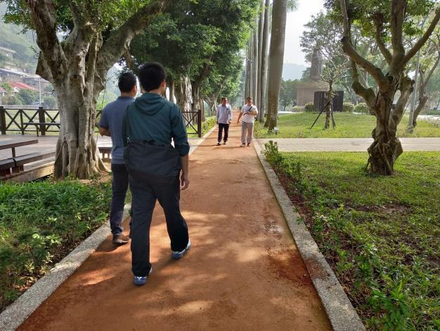 照片07:至善公園-五星級的紅土跑道,大大提升使用的安全性與舒適性