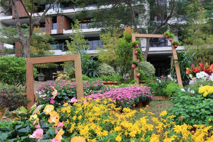 圖5.松山工農園藝科創作的-菊之宴