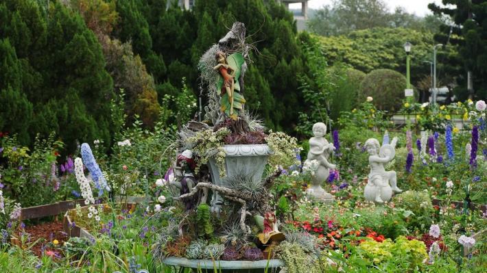 圖1.充滿歐式風格的花園(照片由Daidai Chang提供).JPG