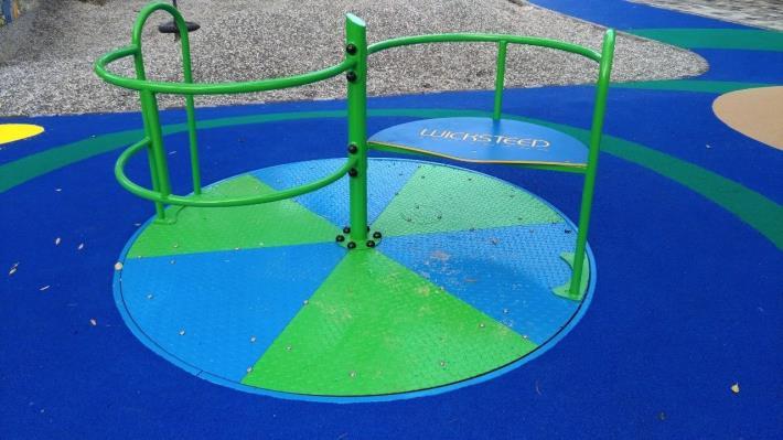 圖6.興隆公園無障礙旋轉盤